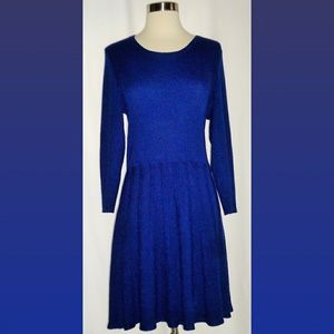 Thakoon for DesigNation Navy Blue Sweater Dress XL